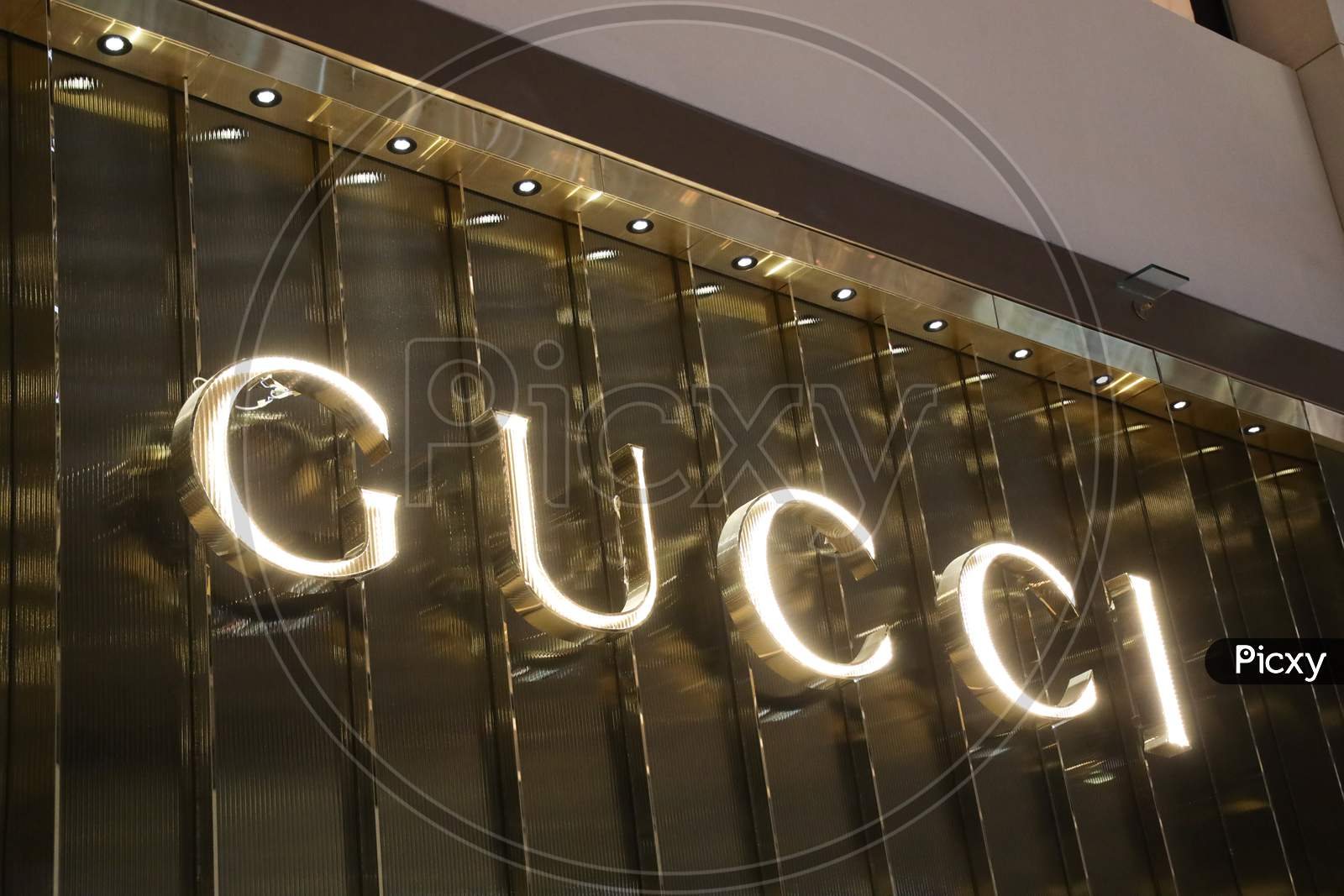 Image Of Gucci Fashion Store Name Board Ij649988 Picxy
