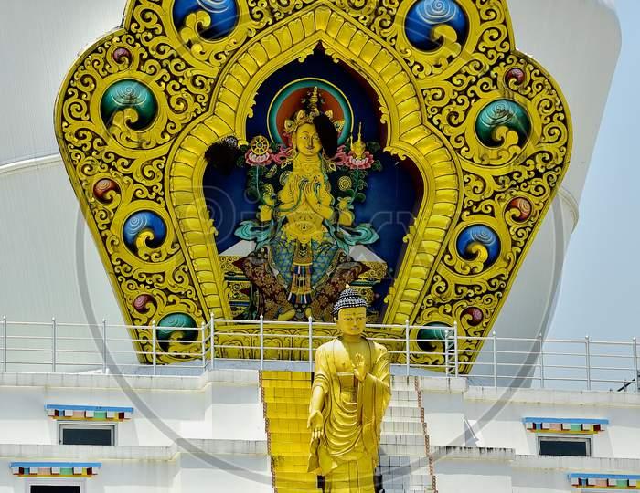 Tibetan Monastery And Buddha Temple in Dehradun