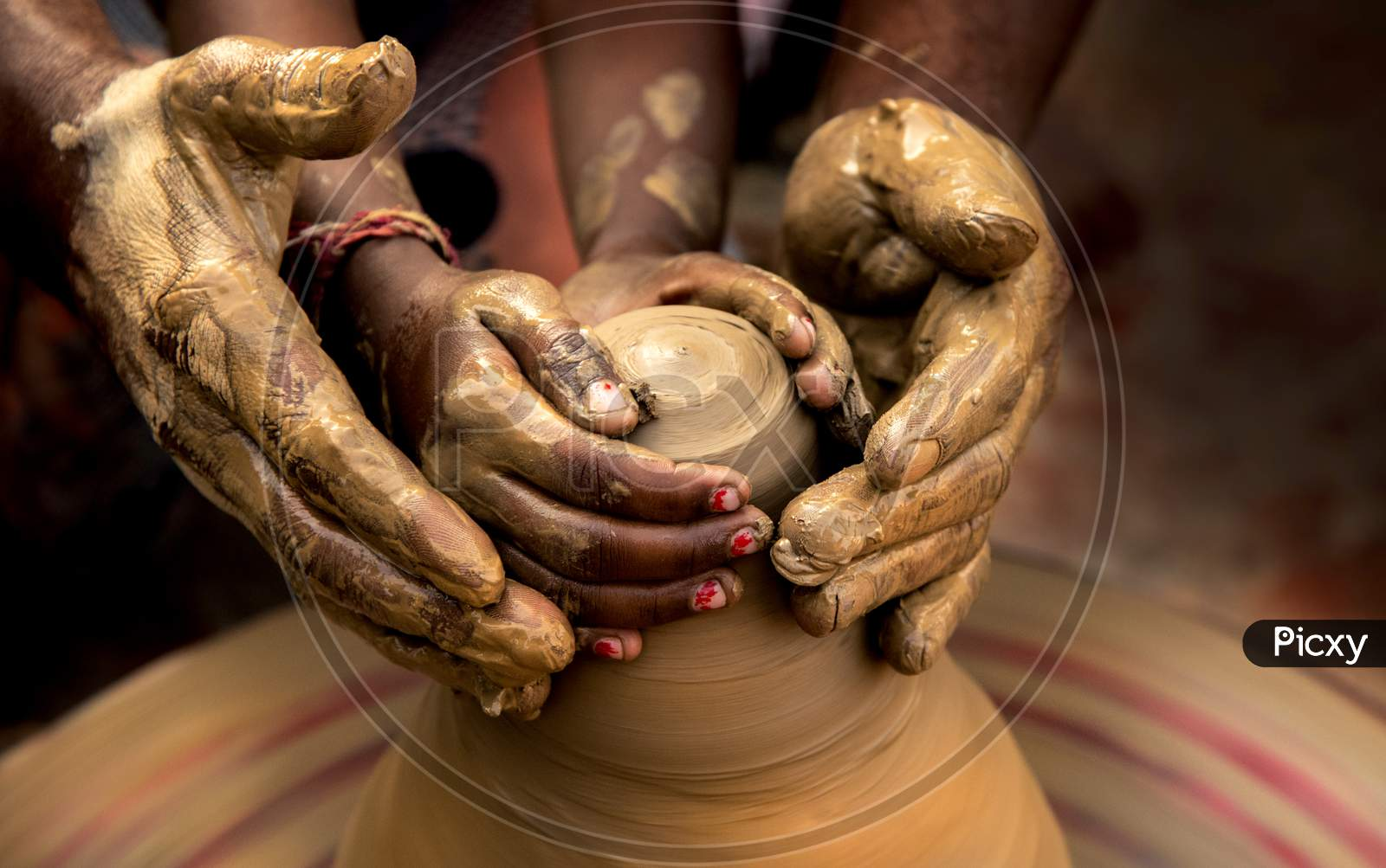 Unglazed Pottery, The Oldest Form Of Pottery Practiced In India, Terracotta Clay-Pot Making