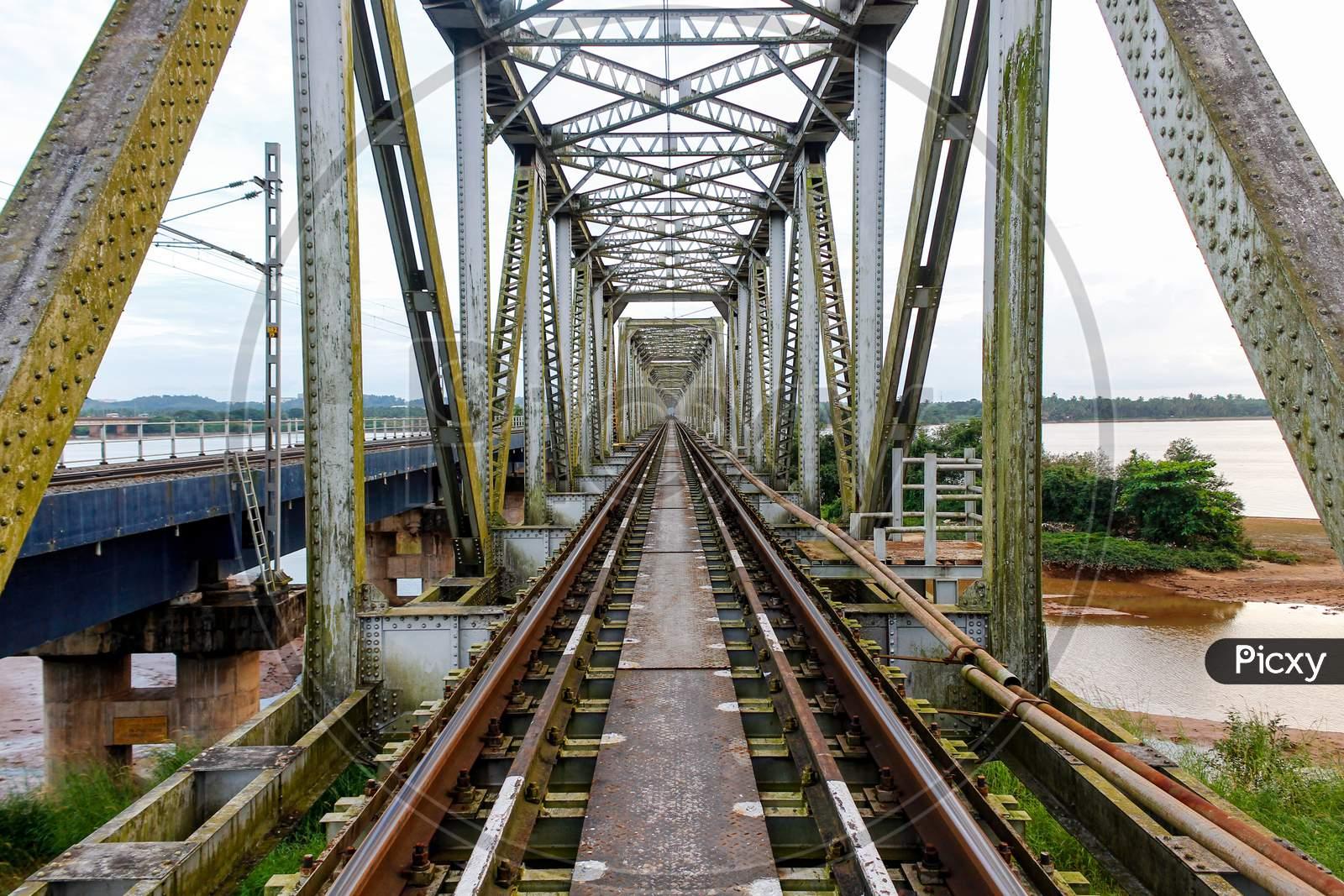 Netravathi Railway Bridge Mangalore Karnataka