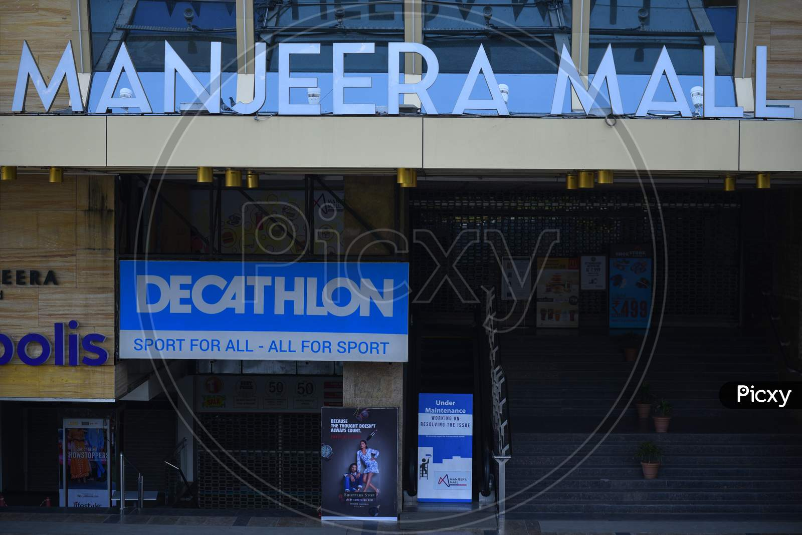 Manjeera Mall, Janata Curfew, March 22,2020, Kphb,Hyderabad