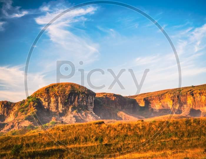 Rolling landscape in Meghalaya