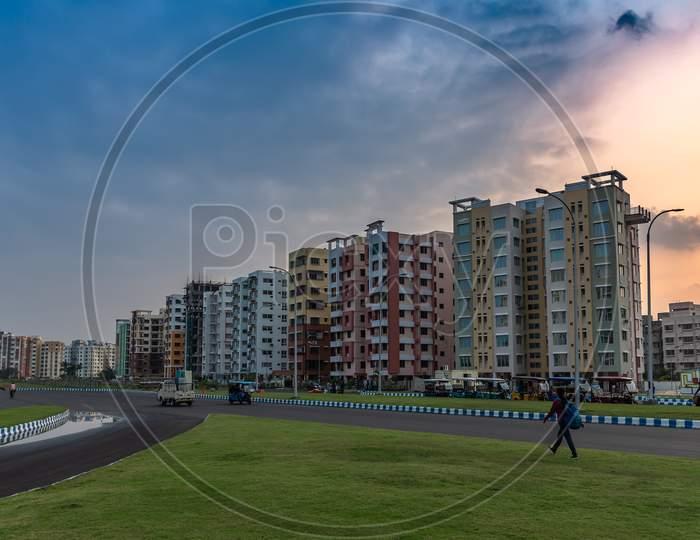 Residential Buildings In an Urban City