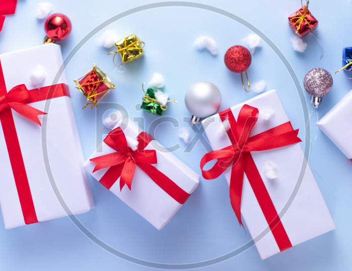 Christmas gifts for celebrating christmas festival.