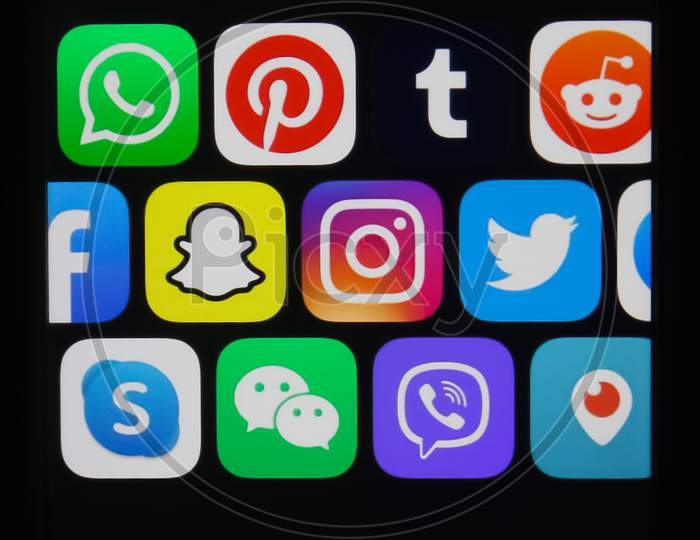 All Social media applications like Skype, WhatsApp ,Facebook, Instagram, Twitter, Facebook at one place.