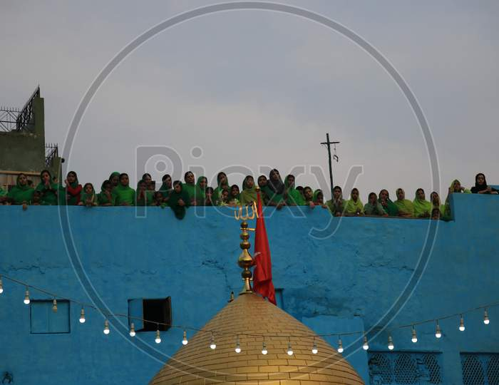 Muharram Mourning's  by Devotees At Ajmer Sharif Dargah, Ajmer, Rajasthan