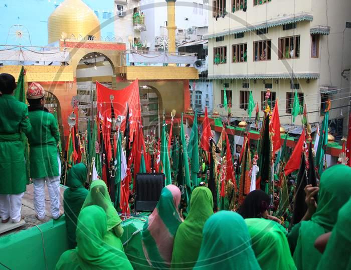 Muharram Mourning's  by Devotees At Ajmer Sharif Dargah, Ajmer, Rajasthan