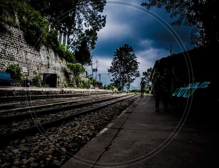 Barog railway, The station lies on UNESCO World Heritage Site Kalka–Shimla Railway.