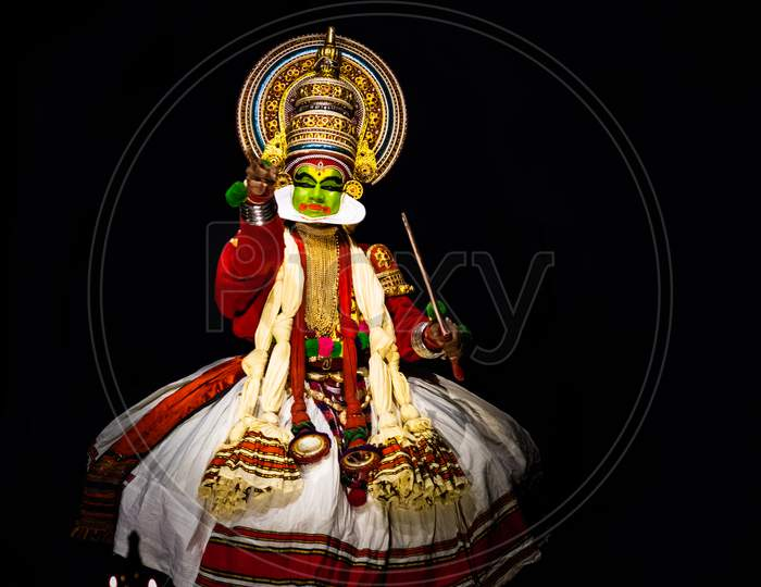 Kathakali Kerala Classical Dance Men Hand Expression