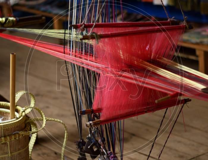 Old Weaving Loom
