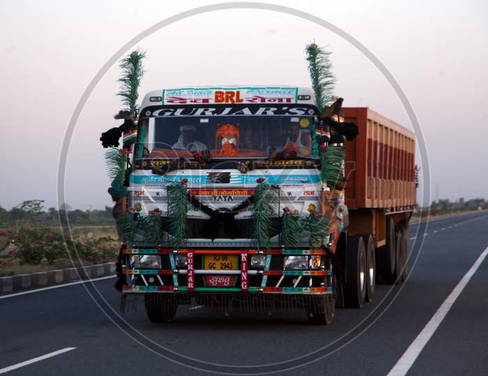 A Heavy Vehicle moving on a Single Lane Road