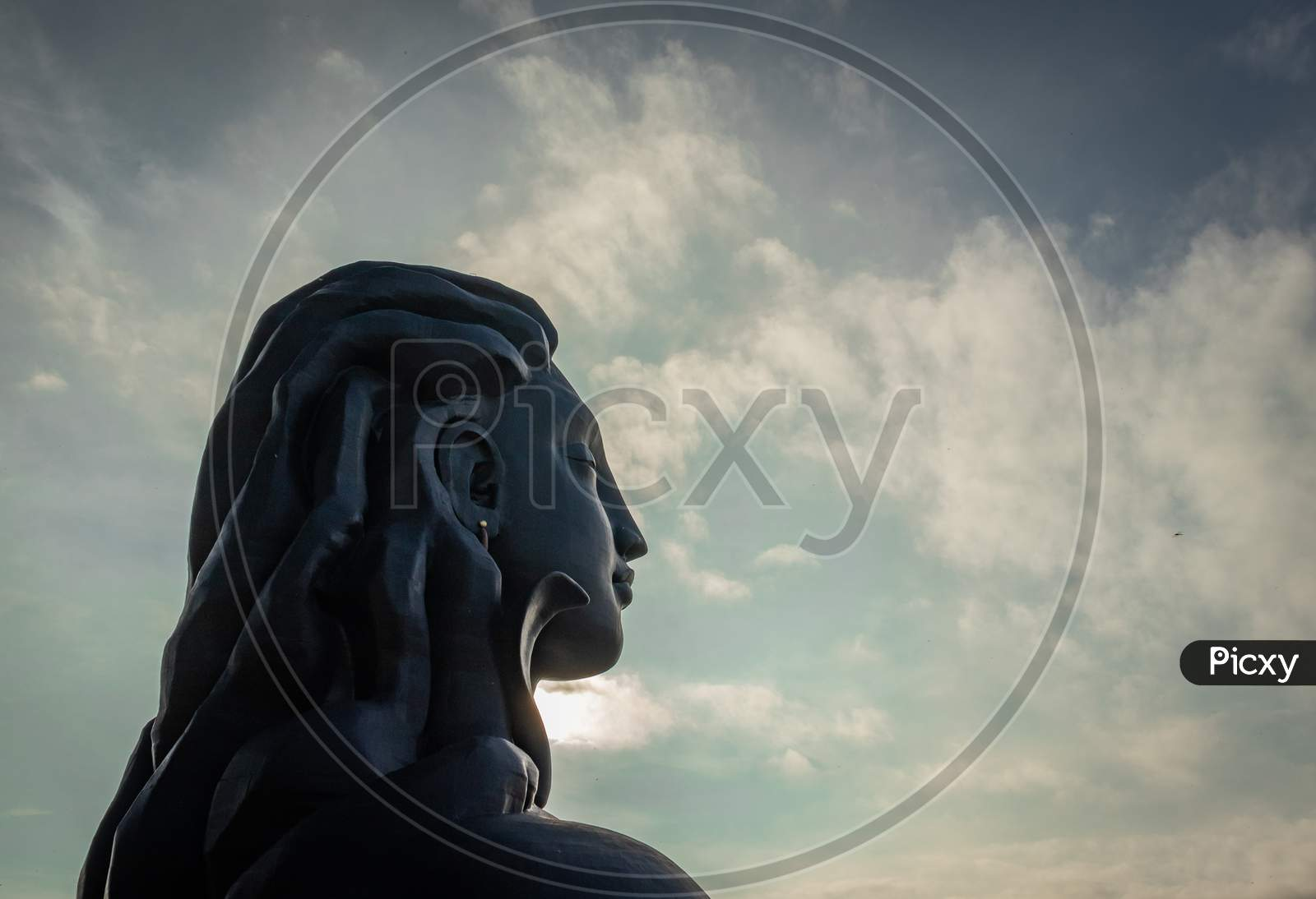 Adiyogi Shiva Statue From Unique Different Perspectives