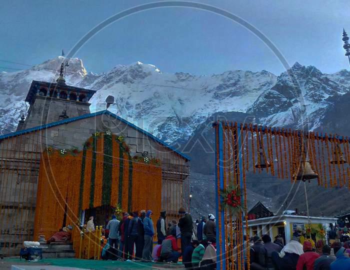 Kedarnath Temple Is A Hindu Temple Dedicated To Lord Shiva.