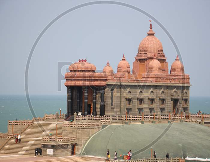 Vivekananda Rock Memorial is a sacred monument and popular tourist attraction in Kanyakumari, India.