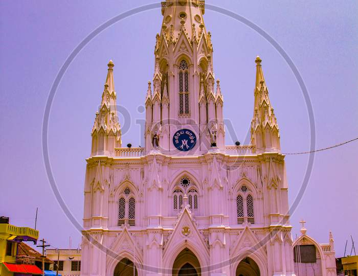 Catholic Church in Kanyakumari,Tamil Nadu, Southern India  A