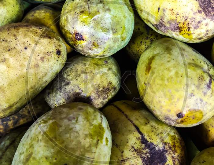 Mango Is The National Fruit Of India. This Fruit Is Very Testy. Many Shots Of Mangoes Have Been Put Together.