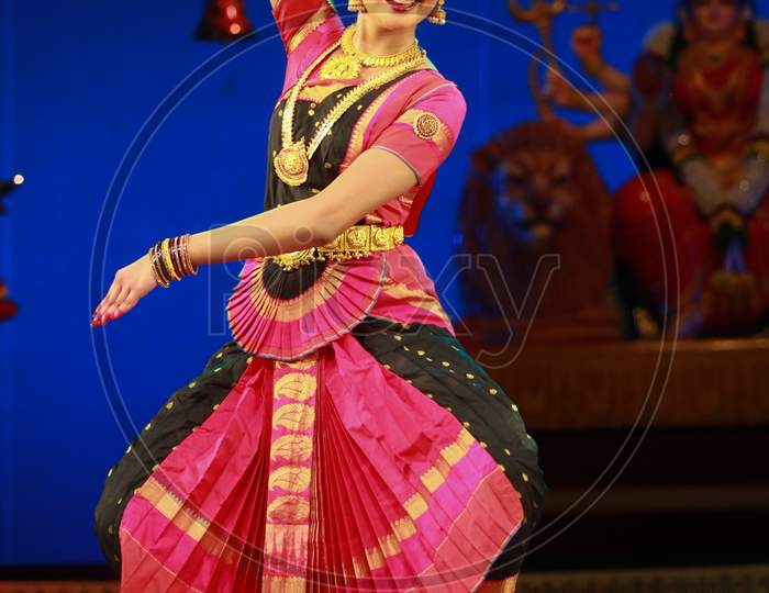 A bharatnatyam recital event held on December 26,2016 at Sevasadan hall in Bengaluru.