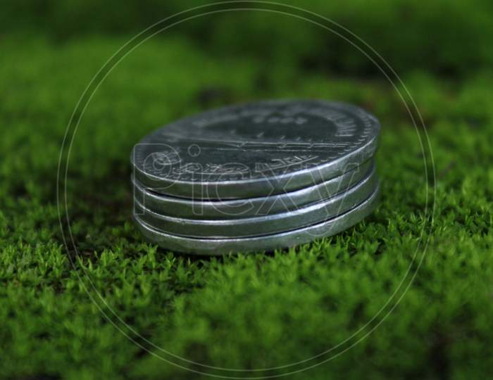 Savings coin money for your future
