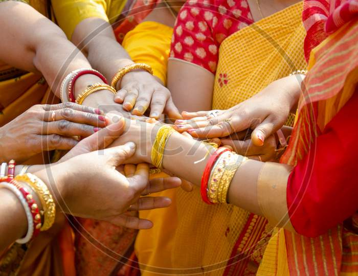 Indian Wedding Ritual ( haldi ceremony)