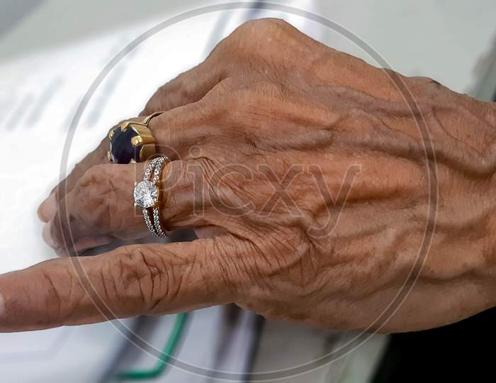 Hand Of An Old Lady