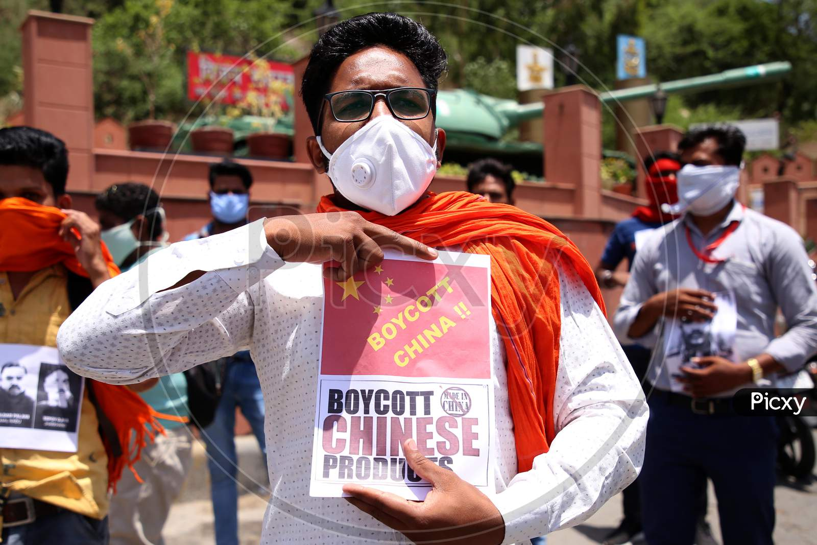 Indian People Protest Against China On Indo-China Clash At Galwan Valley In Ladakh, In Ajmer, Rajasthan, India On June 17, 2020.
