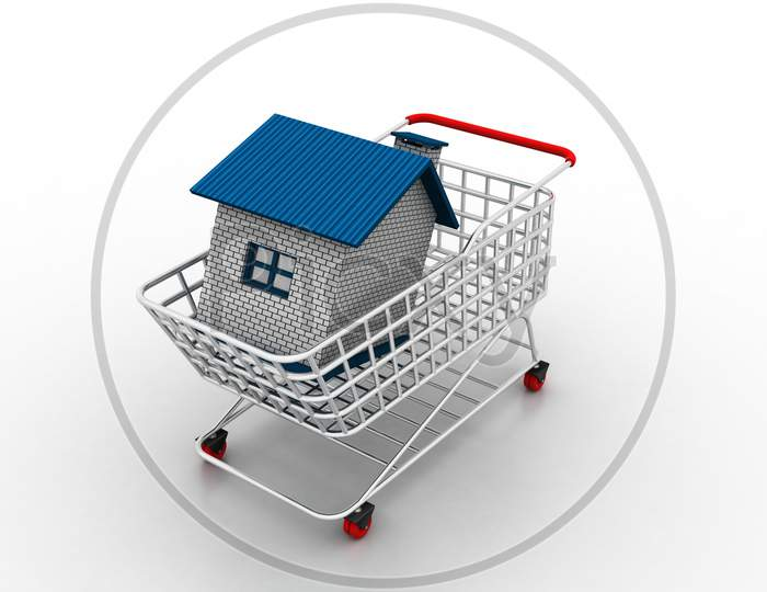 House In Trolley