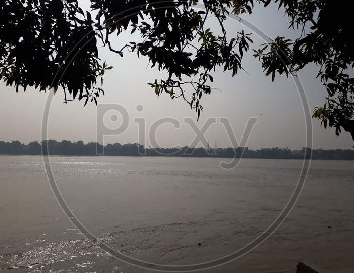 The Gandak River, Sonpur, Bihar, India.