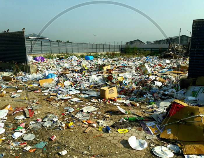 Pollution Garbage Causes Huge Damage To The Humanity