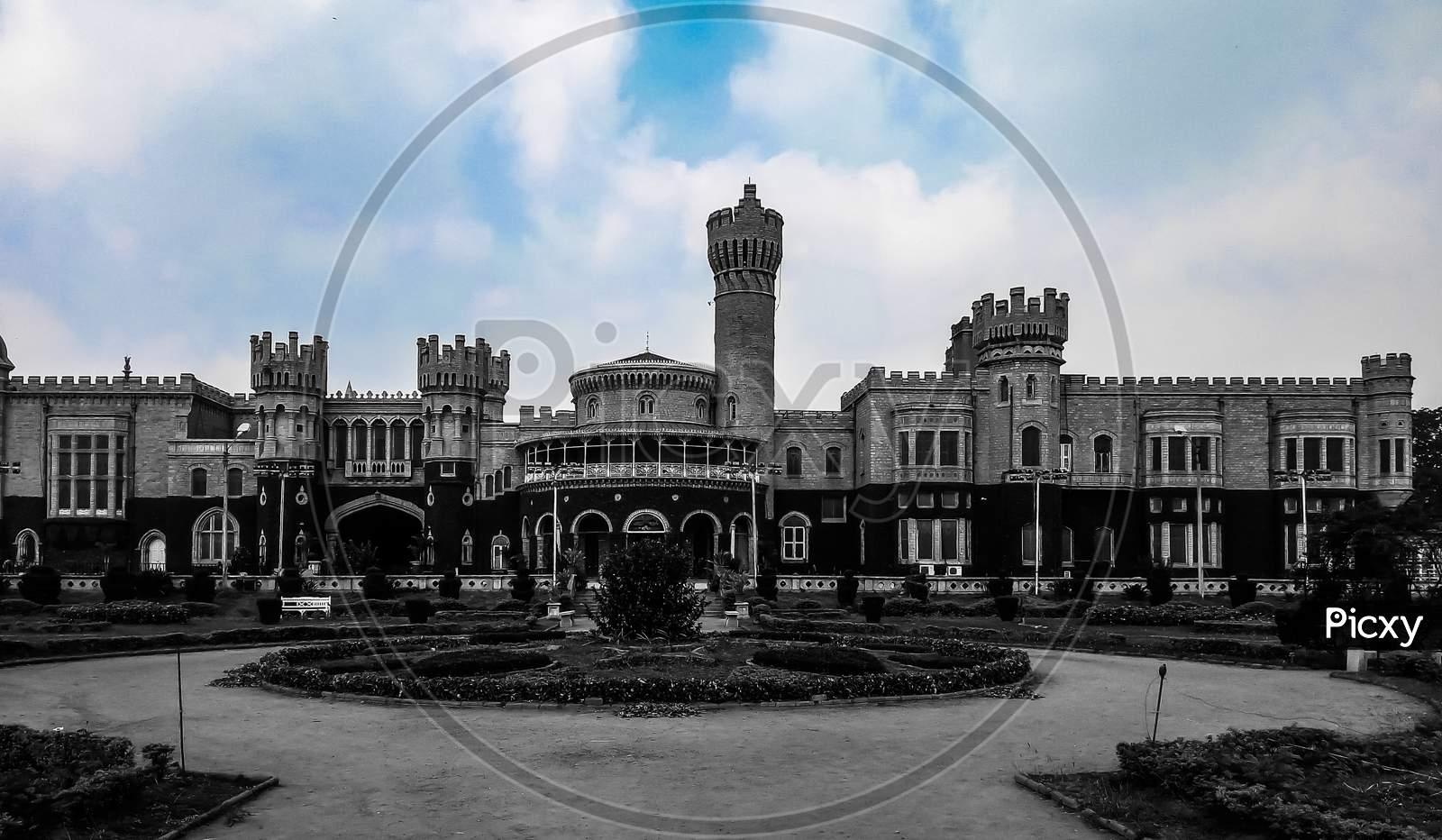 The Beautiful Banglore Palace At Its Best. Banglore, Karnataka India.