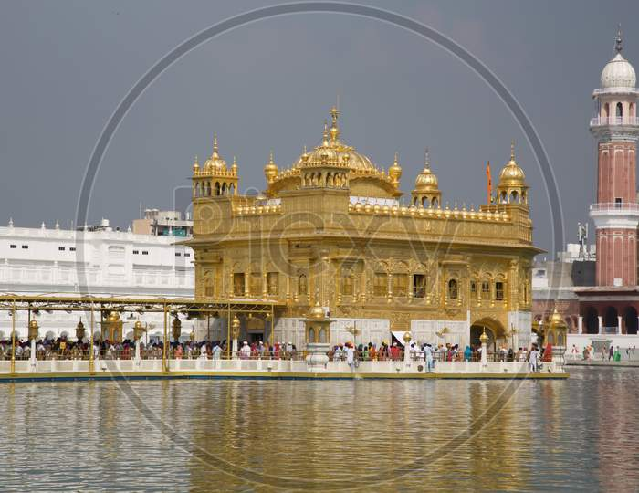 India Harmandir Sahib, Known As The Golden Temple, Is The Spiritual And Cultural Centre For The Sikh Religion.