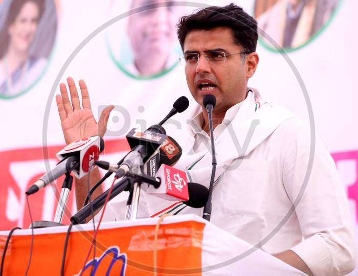 Sachin Pilot ,Deputy Chief Minister of the state of Rajasthan and President of Rajasthan Pradesh Congress Committee.