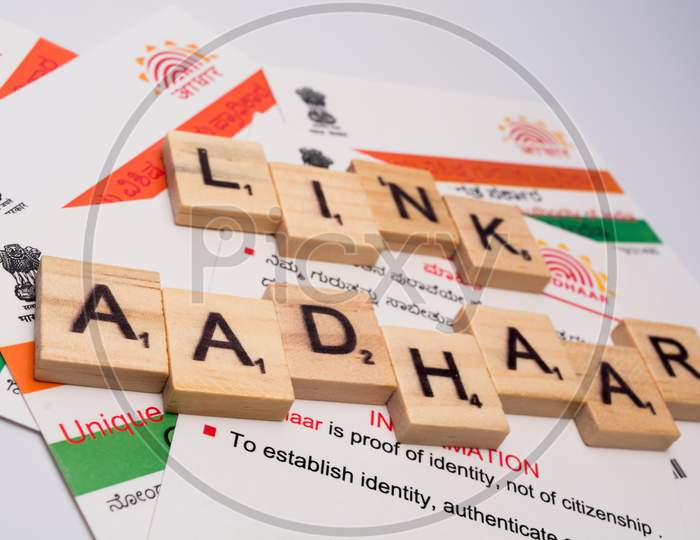 Aadhaar Card Which Is Issued By Government Of India As An Identity Card,