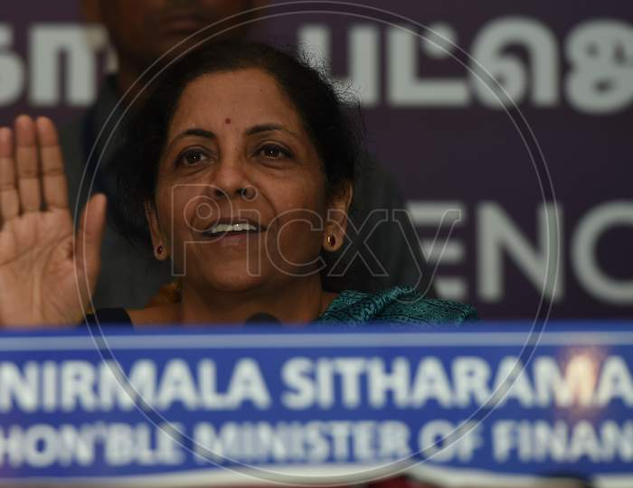 Nirmala Sitharaman , Union Minister For Finance And Corporate Affairs India