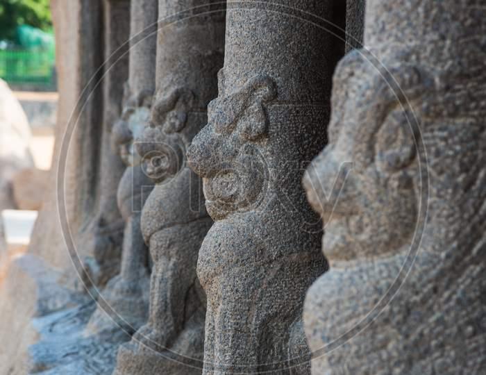 Mahabalipuram temple from Chennai, south India