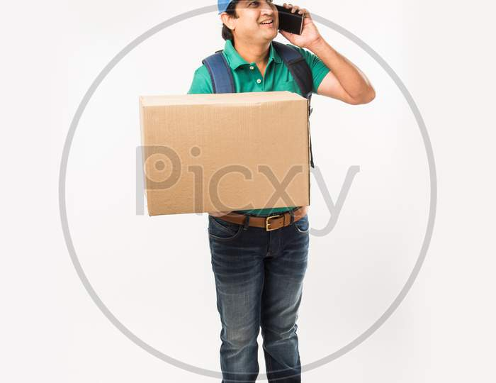 Indian/Asian home delivery boy