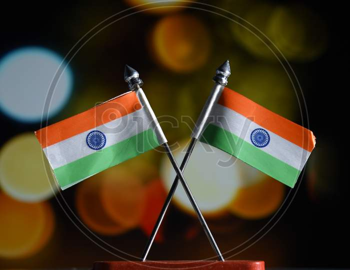 Indian Independence Day concept Indian Flag.15 August
