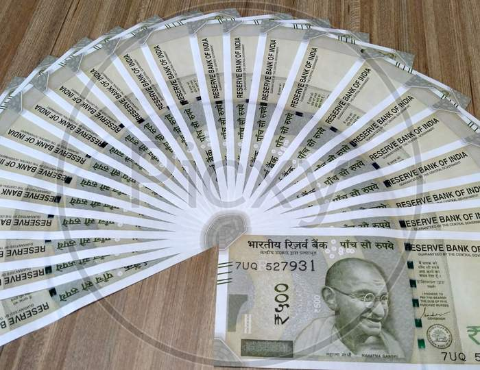 Indian currency,New 500 Rupee