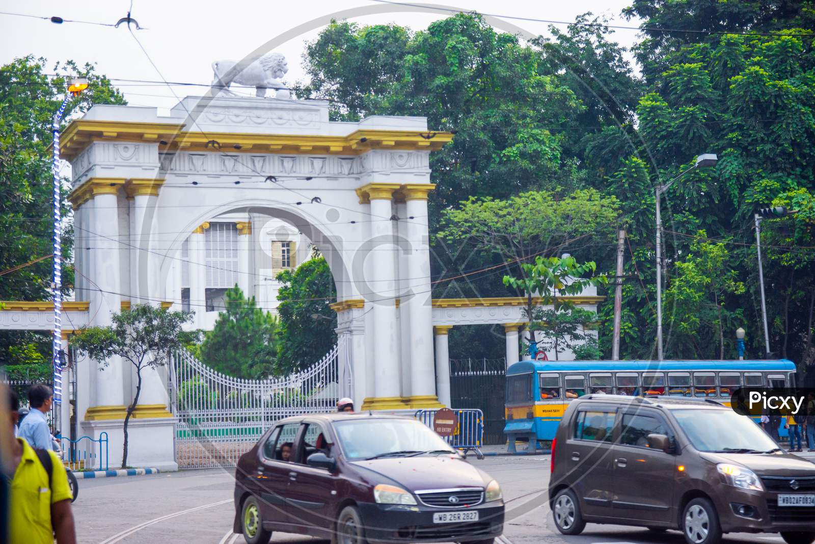 Gateway of Raj bhavan or governor house in Kolkata