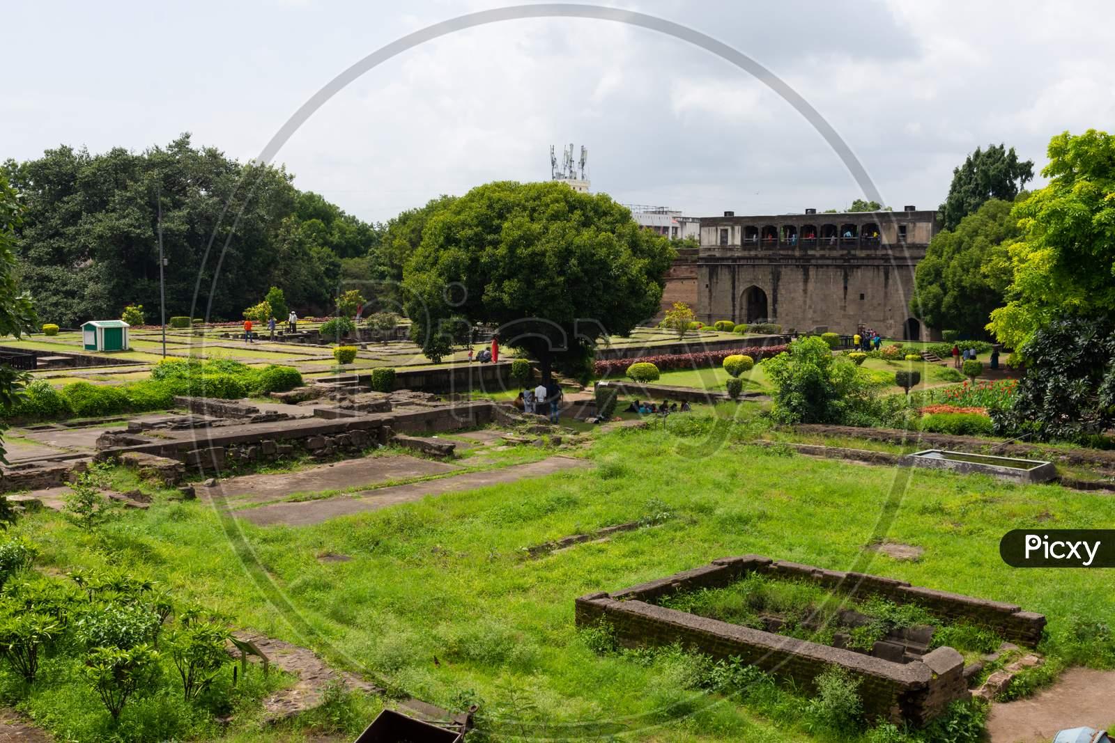 Shaniwar wada in Pune, Maharashtra.