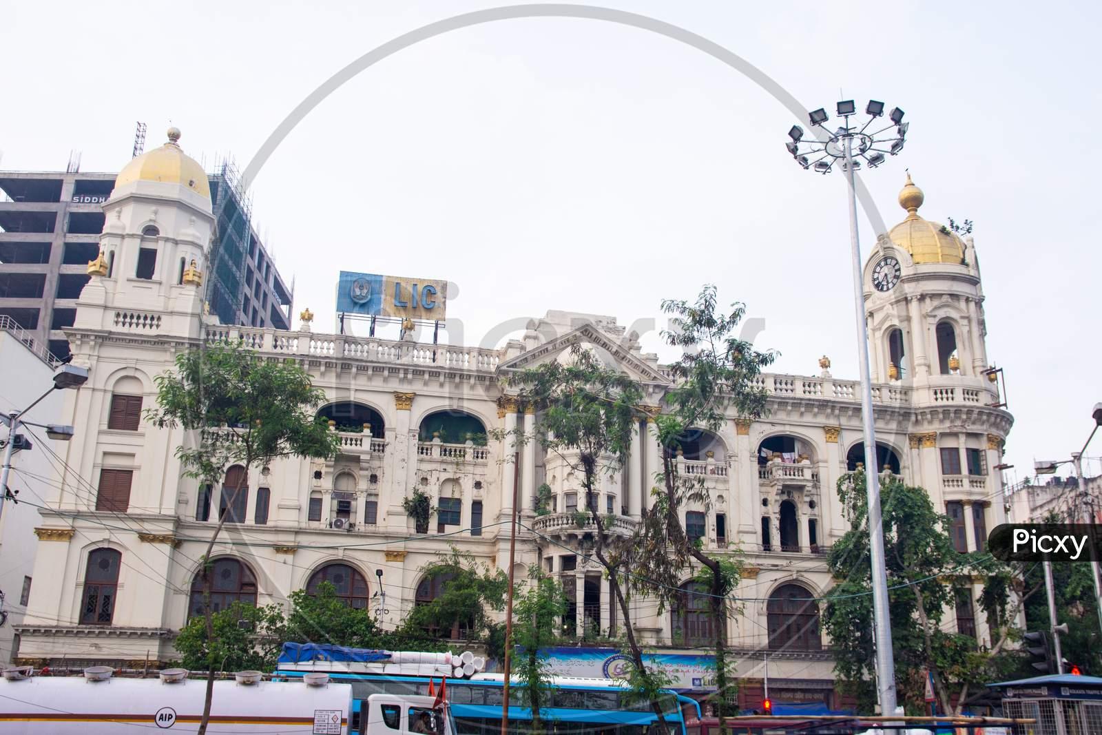 Kolkata Metropolitan colonial heritage building.