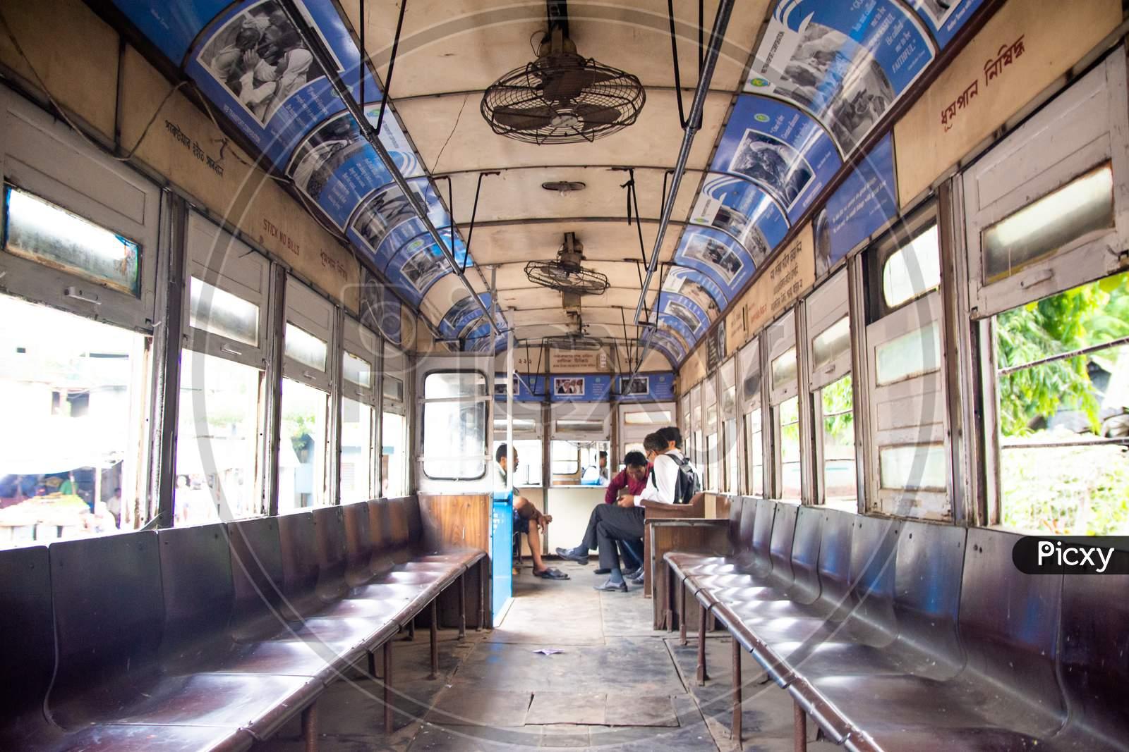 Old Heritage Kolkata tram