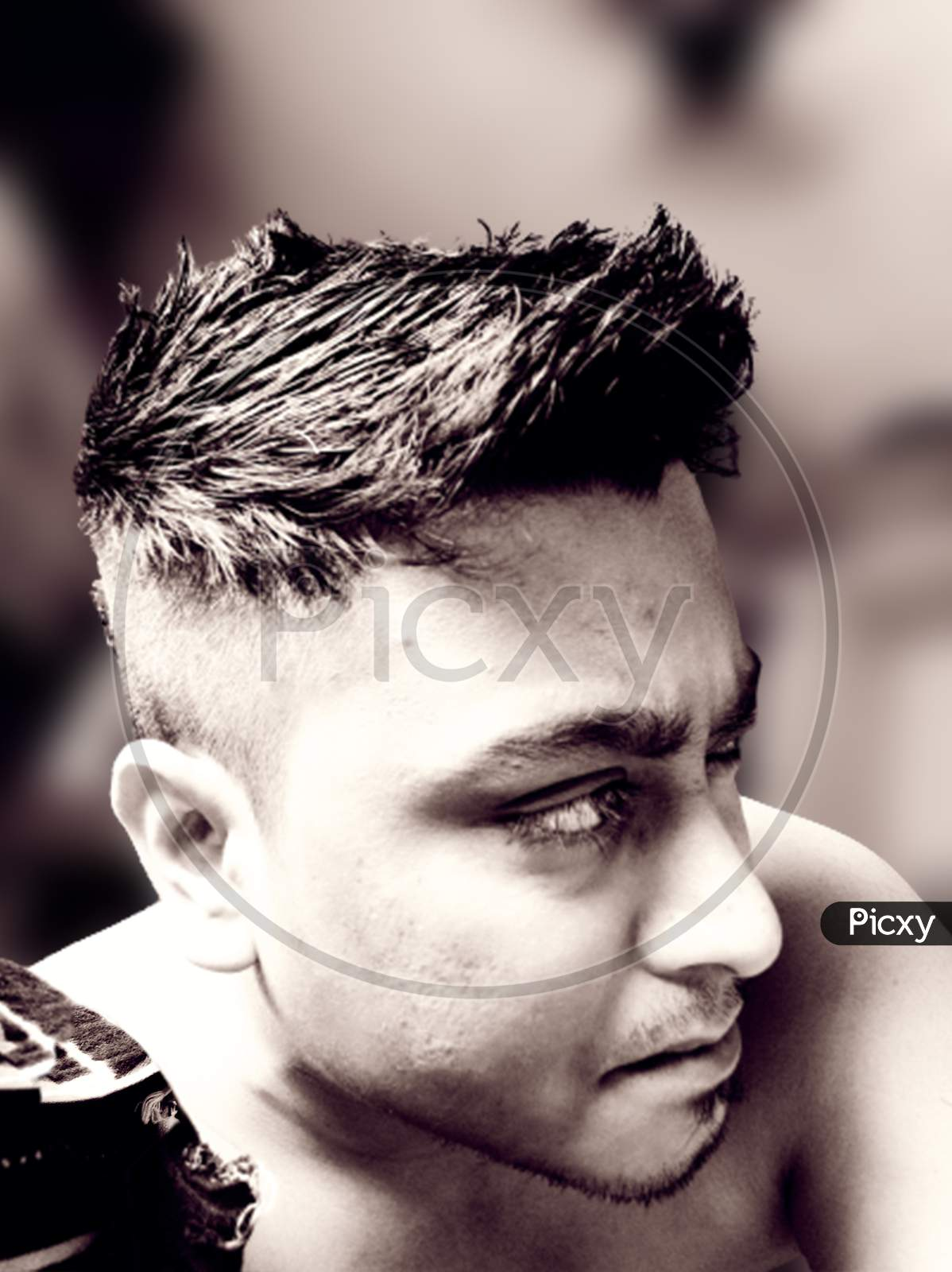 Image Of Man With Spike Cut Hairstyle Nb889195 Picxy