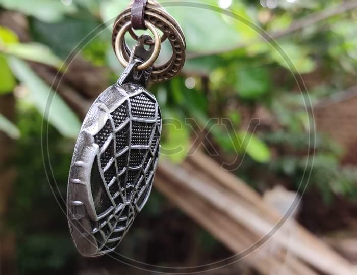 Spiderman neck chain