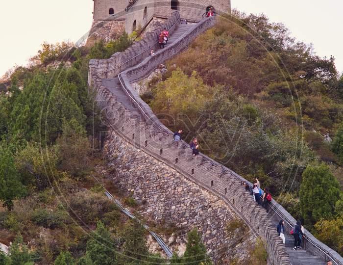 Juyongguan (Juyong Pass) Great Wall Of China In Beijing