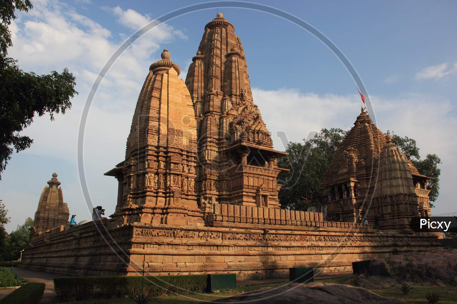 Khajuraho Group of temples and monuments, Unesco world heritage Site, Madhya Prades, India