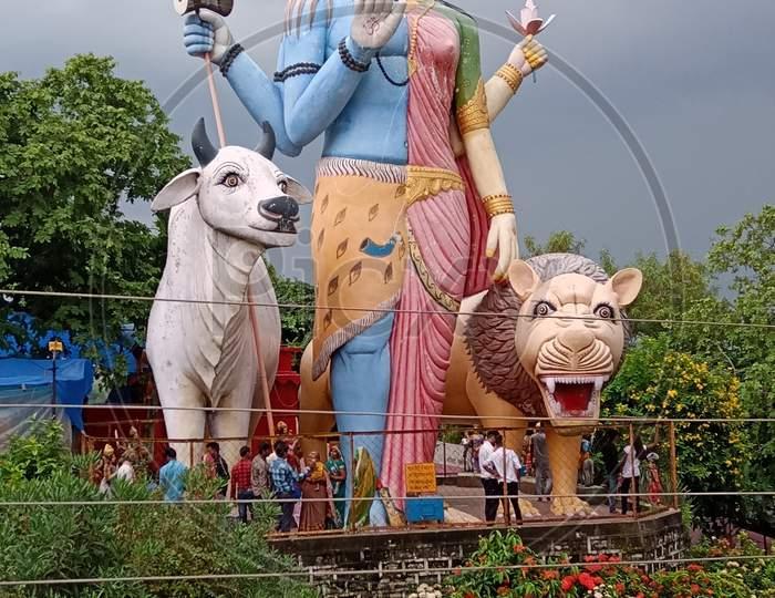 Shankar bhagya mata parwati lovely art statue