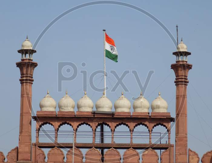 Red fort Delhi,india