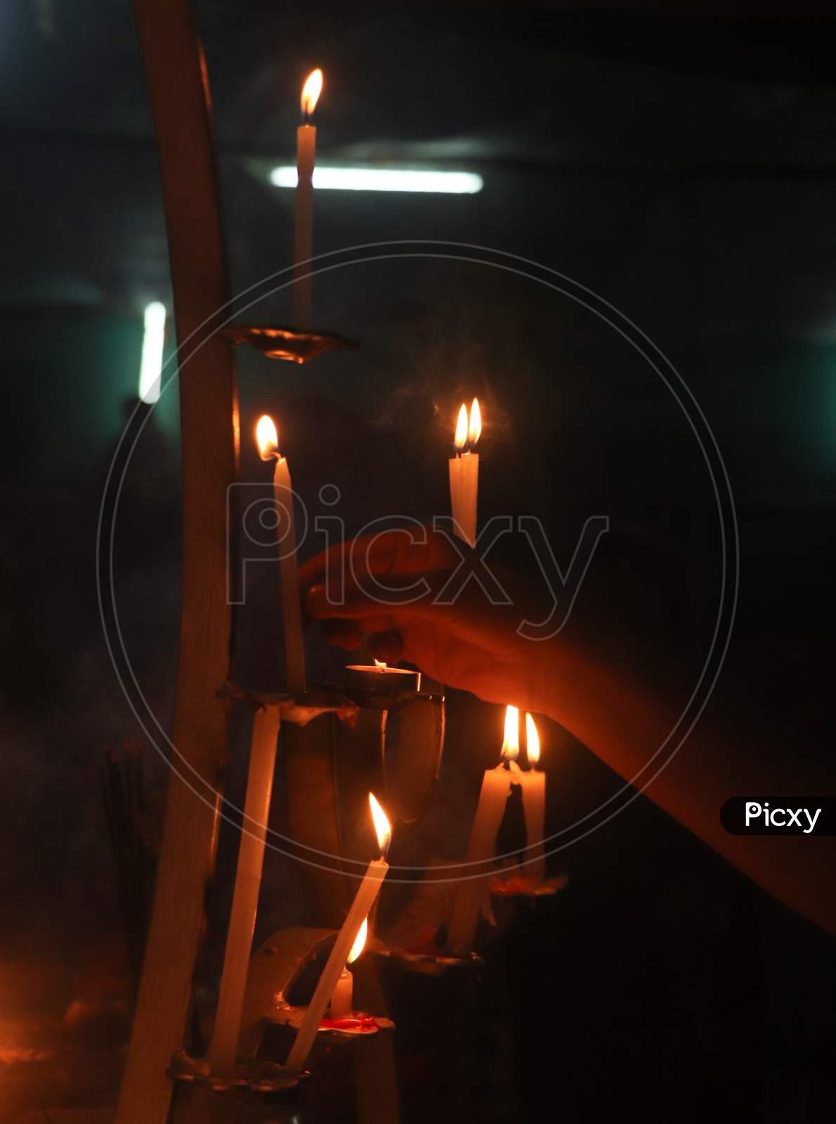 Lightning Candles