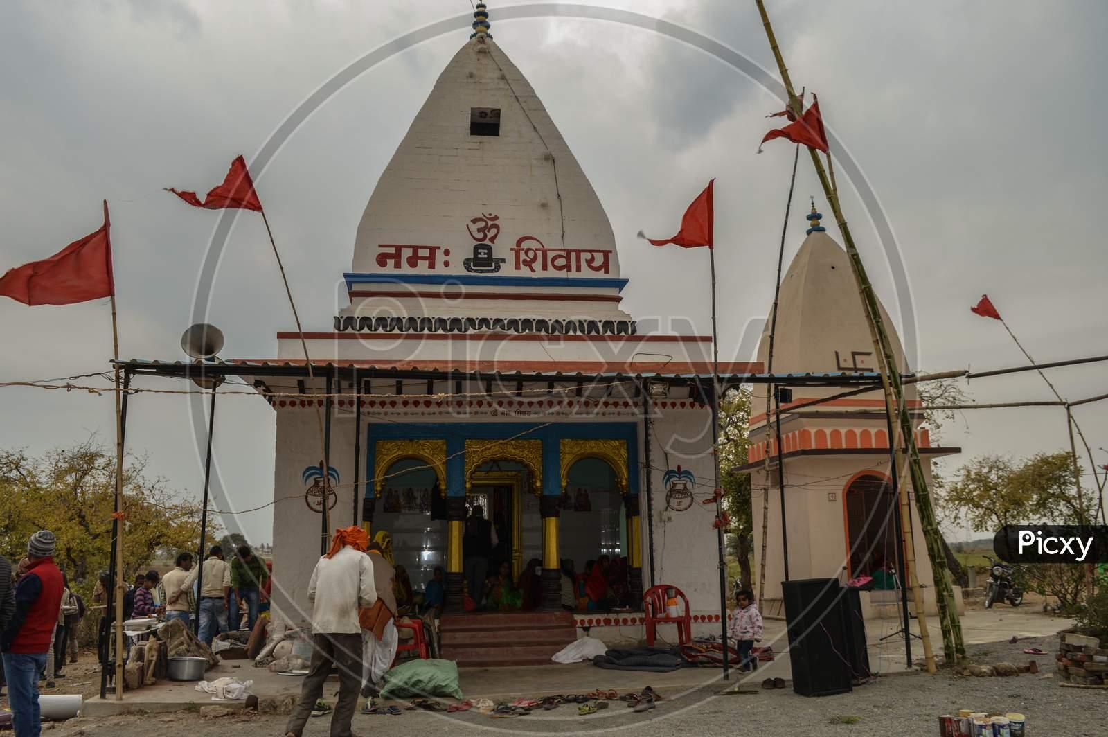 A Temple Of Lord Shiva At Village Bhad, Madhya Pradesh India.