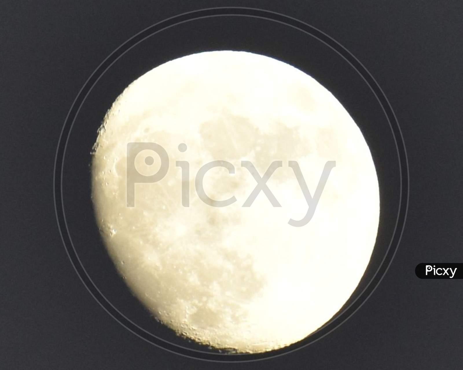 A beautiful full moon